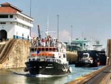 Panama Canal Boat Transit